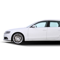 GTS-AV Hyper Silver for Audi A4 Avant Side Icon